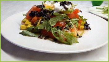 Вкусный салат из авокадо с яйцом пашот - фото шаг 4