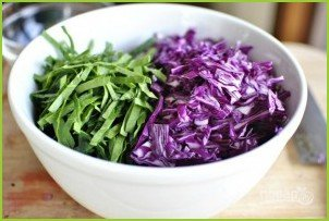 Азиатский салат из капусты - фото шаг 4
