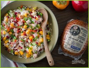 Азиатский салат с рисом - фото шаг 3