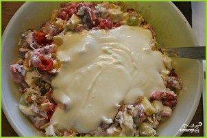 Фруктовый салат со сметаной - фото шаг 4
