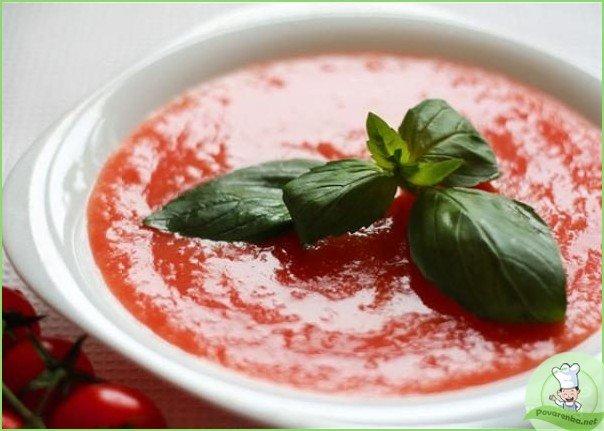 Итальянский суп из помидоров - фото шаг 2