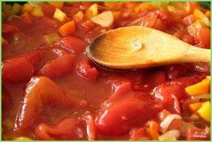 Итальянский суп из помидоров - фото шаг 8