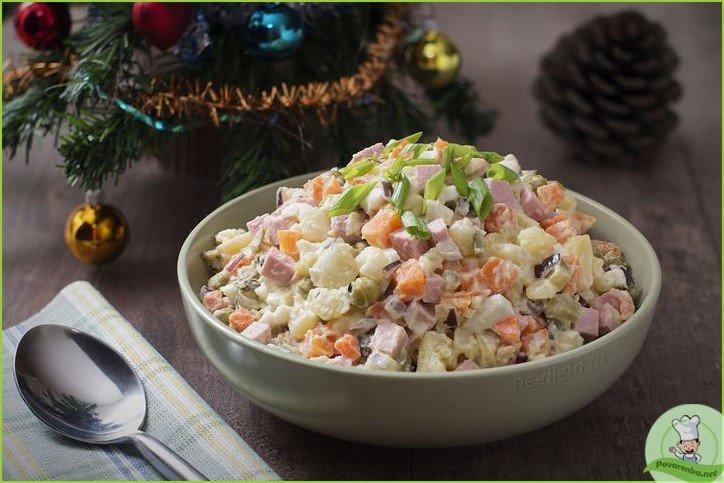 Мясной салат с колбасой - фото шаг 1