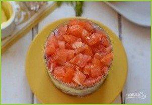 Мясной салат с колбасой - фото шаг 5
