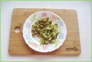 Рассольник с оливками - фото шаг 7