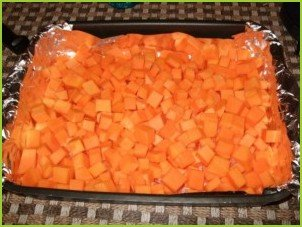 Салат из мандаринов и шпината - фото шаг 1
