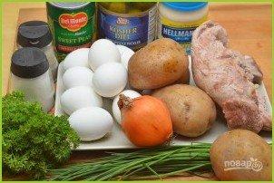 Салат из мяса - фото шаг 1