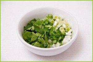 Салат с авокадо и огурцом - фото шаг 4
