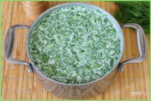 Холодный суп из шпината - фото шаг 8