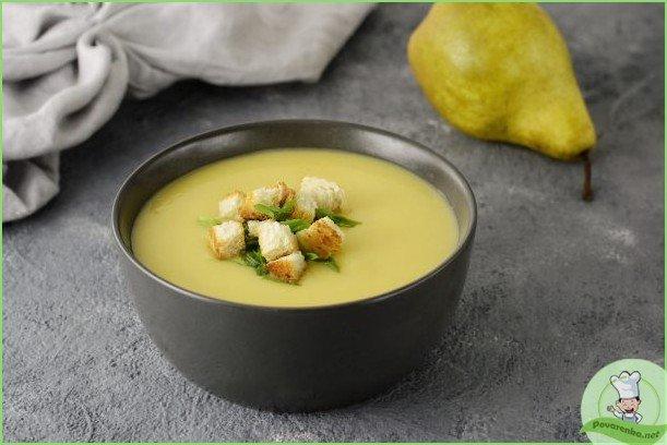 Овощной суп с грушей - фото шаг 1
