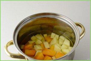 Овощной суп с грушей - фото шаг 4