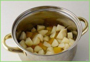 Овощной суп с грушей - фото шаг 6