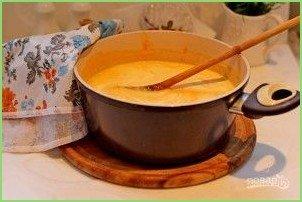 Суп-пюре из тыквы с фрикадельками - фото шаг 9