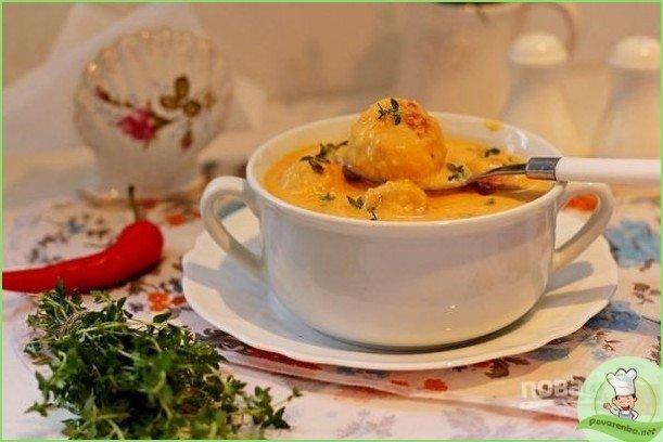 Суп-пюре из тыквы с фрикадельками - фото шаг 1