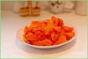 Суп-пюре из тыквы с фрикадельками - фото шаг 4