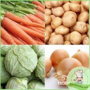 Классический овощной бульон - фото шаг 2