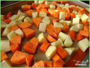 Классический овощной бульон - фото шаг 3