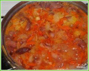 Красная фасоль в томатном соусе - фото шаг 5