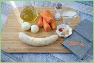 Остро-сладкий морковный биск - фото шаг 2