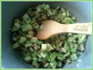 Овощное рагу с баклажанами и кабачками - фото шаг 3