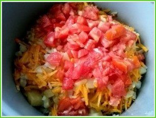Овощное рагу с баклажанами и кабачками - фото шаг 5