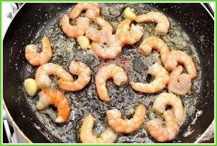 Паста с креветками и соусом Альфредо - фото шаг 2
