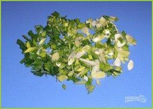 Салат с пекинской капустой и помидорами - фото шаг 5