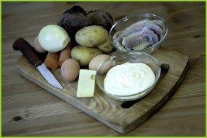 Селедка под шубой с сыром - фото шаг 1