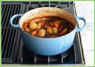 Жаркое из говядины с овощами - фото шаг 11