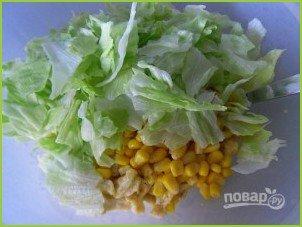 Cалат с кукурузой и яйцами - фото шаг 8