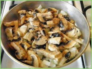 Грибная солянка с картошкой - фото шаг 6