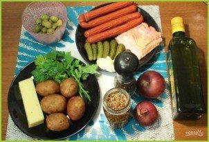 Картофельный салат по-немецки - фото шаг 1