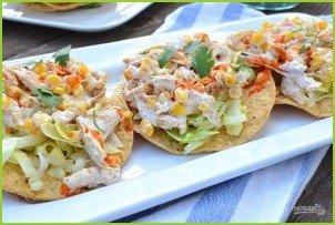 Куриный салат с кукурузой - фото шаг 6