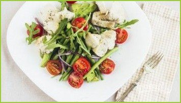 Легкий фитнес-салат - фото шаг 8
