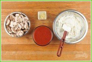 Рулеты с грибами и шпинатом - фото шаг 2