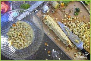 Салат из кукурузы, болгарского перца и авокадо - фото шаг 5