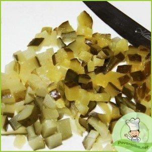 Салат из куриных желудков - фото шаг 4