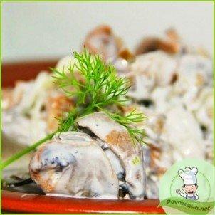 Салат из куриных желудков - фото шаг 5