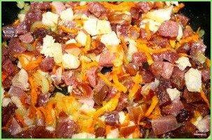 Солянка сборная мясная с картошкой - фото шаг 5