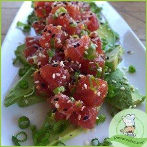Тартар из тунца с авокадо - фото шаг 3