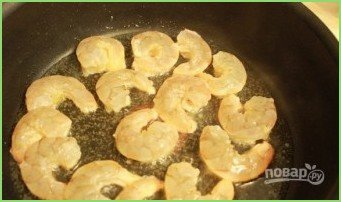 Cуп пюре с креветками - фото шаг 6