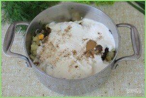 Грибной холодный суп - фото шаг 8