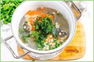 Рыбный суп с сельдереем - фото шаг 7