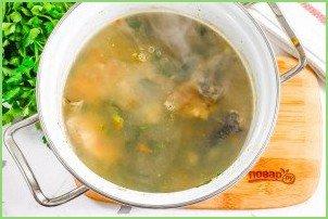 Рыбный суп с сельдереем - фото шаг 8