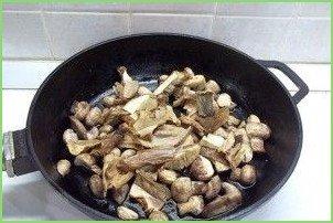 Грибная солянка без капусты - фото шаг 5