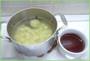 Грибная солянка без капусты - фото шаг 6