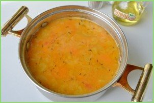 Итальянский чечевичный суп - фото шаг 8