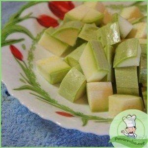 Овощной суп-пюре с креветками - фото шаг 2