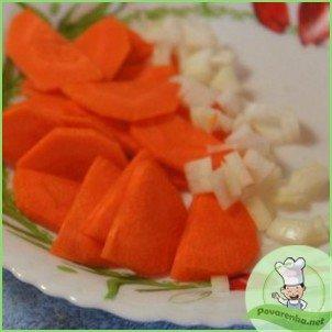 Овощной суп-пюре с креветками - фото шаг 4