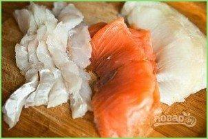 Простая рыбная солянка - фото шаг 2